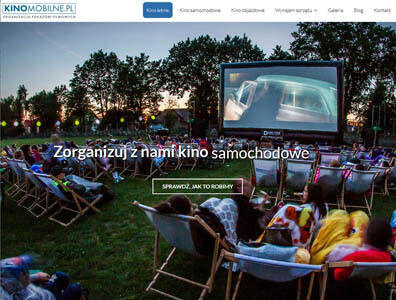Kino mobilne - Plenerowe pokazy filmowe - kinomobilne.pl