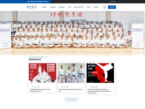 strona internetowa karate.pl