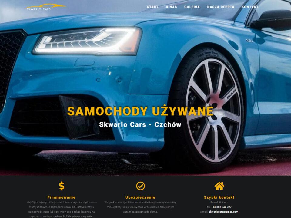 Skwarlo Cars - samochody używane skwarlocars.pl